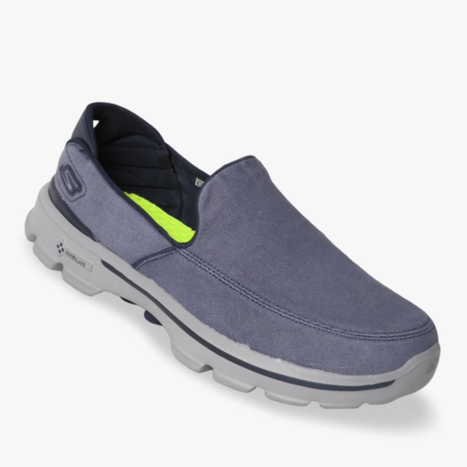 Tips Beli Skechers Gowalk 3 Unwind Men S Sneakers Navy Yang Bagus