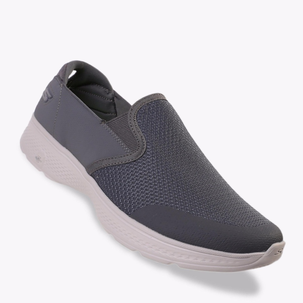 Beli Barang Skechers Gowalk 4 Contain Men S Sneakers Shoes Abu Abu Online