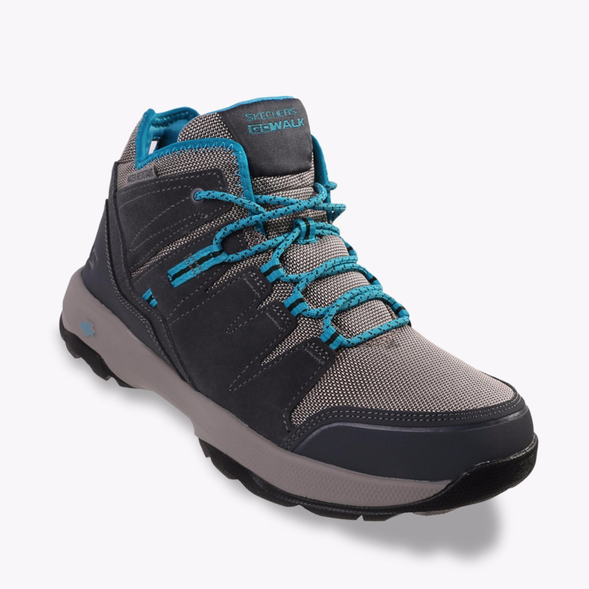 Jual Skechers Gowalk Outdoors 2 Women S Sneakers Shoes Charcoal Baru