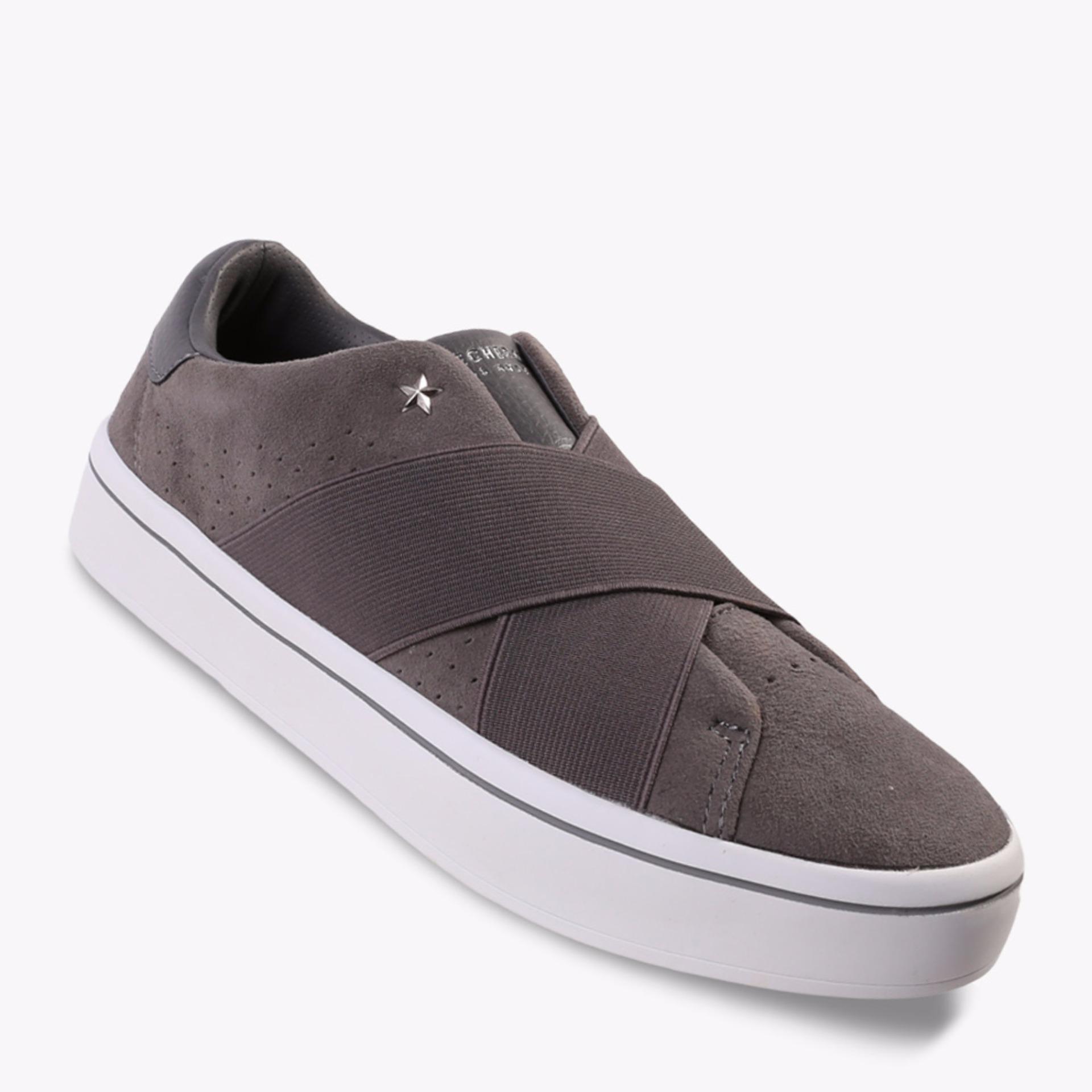 Harga Skechers Hi Lites Street Crossers Women S Sneakers Shoes Abu Abu Yg Bagus