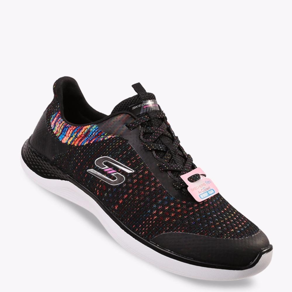 Skechers Orbit Flying Fleet Women S Sneakers Shoes Hitam Diskon Indonesia