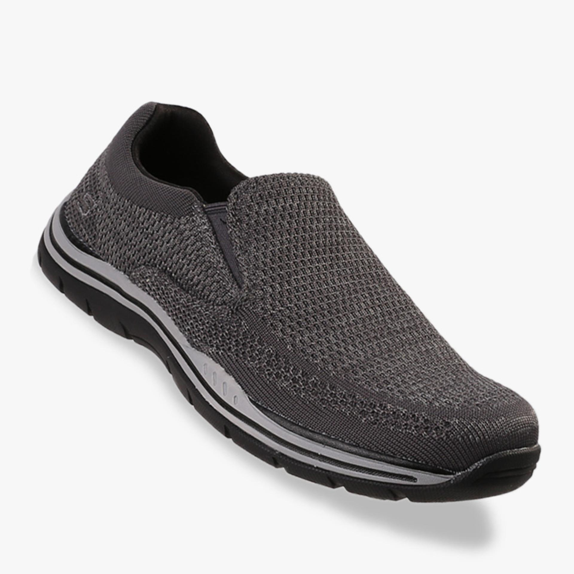 Katalog Skechers Relaxed Fit Expected Gomel Men S Sneakers Shoes Abu Abu Terbaru