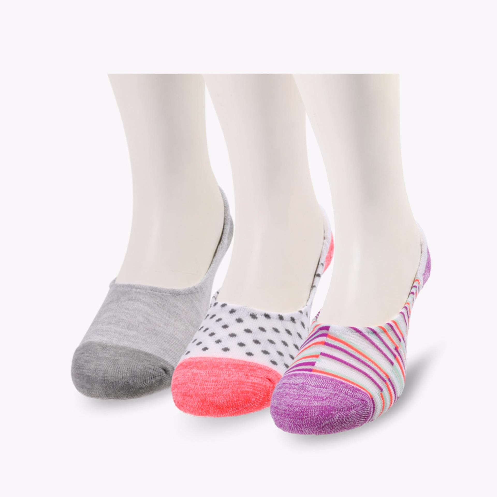 Jual Skechers Relaxed Fit Expected Gomel Women S Socks Multicolor Lengkap