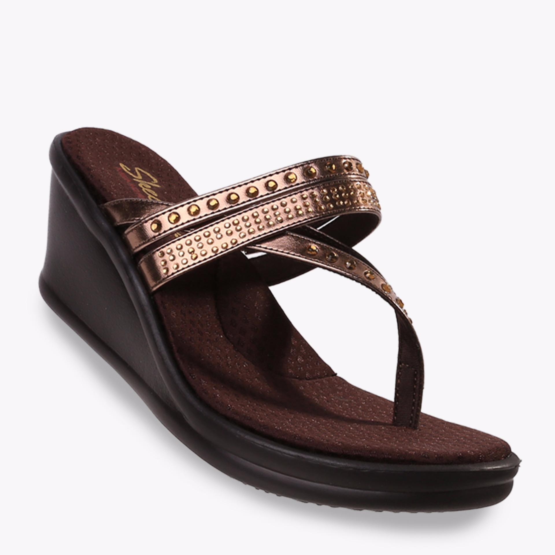 Toko Skechers Rumblers Famous Women S Sandals Maroon Yang Bisa Kredit