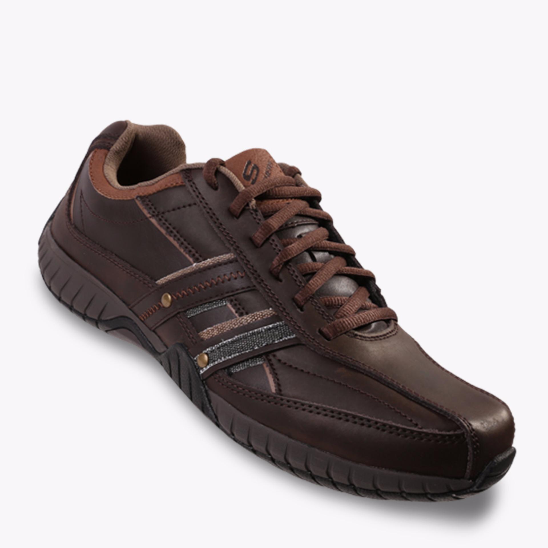 Toko Jual Skechers Sendro Brusco Men S Sneakers Shoes Cokelat