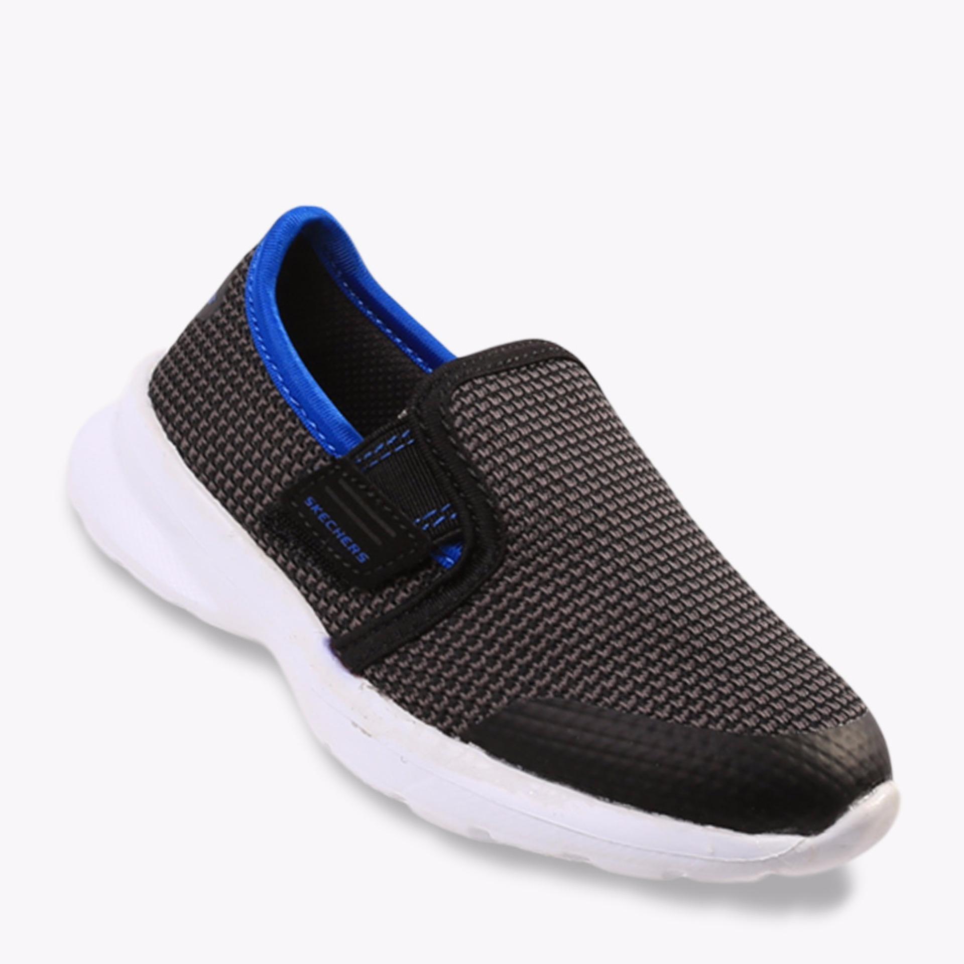 Skechers Skech Stepz - Power Stride Boys's Sneakers Shoes - Abu-Abu
