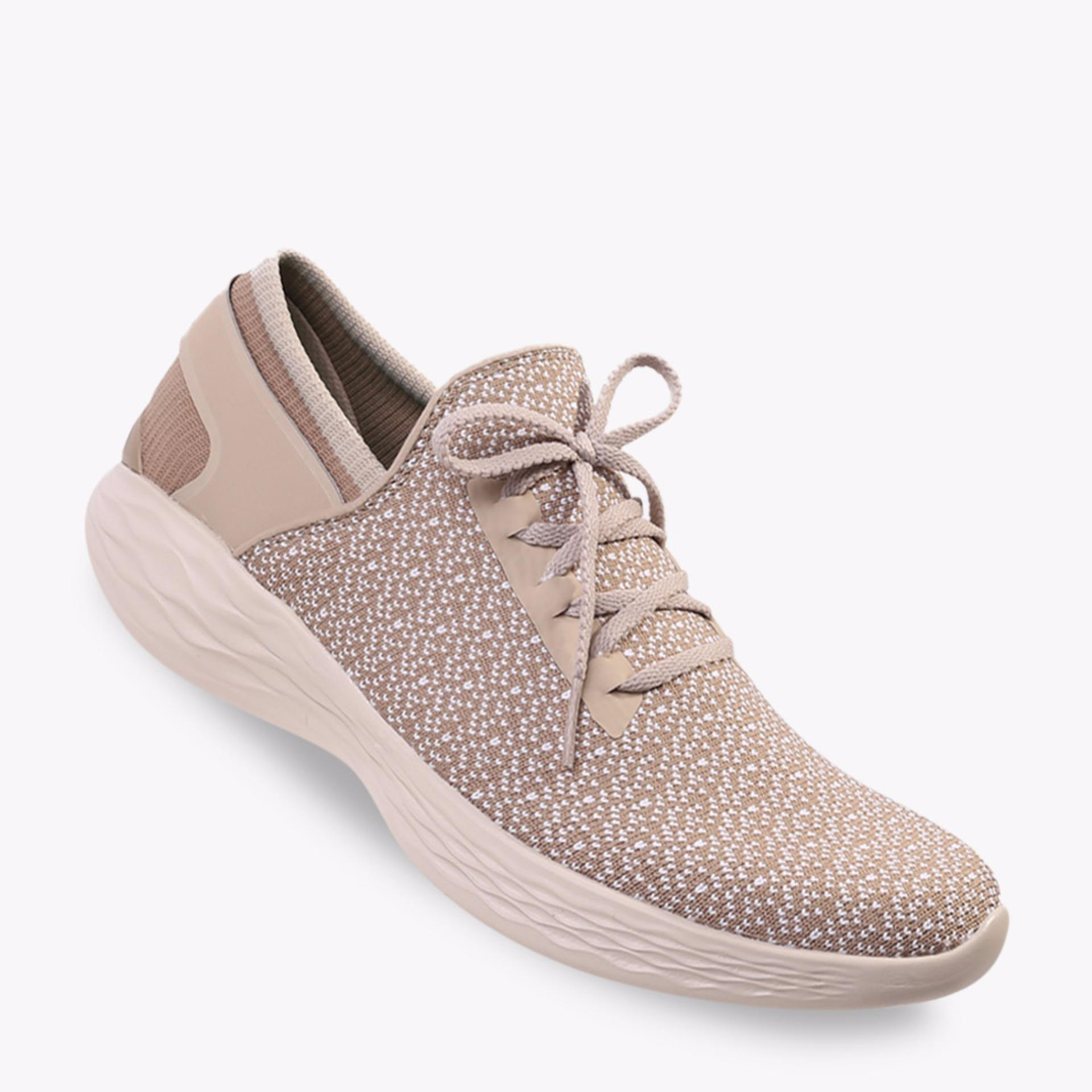 Toko Skechers You Inspire Women S Sneakers Shoes Khaki Online Terpercaya