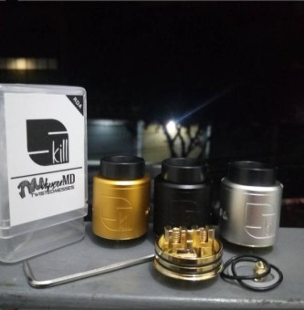RDA GOON LOST ART 24 By 528 Custom Vape Rebuildable Dripping Atomizer Tank Airflow 24mm -. Source · Harga preferensial Skill RDA By Twisted Messes ...