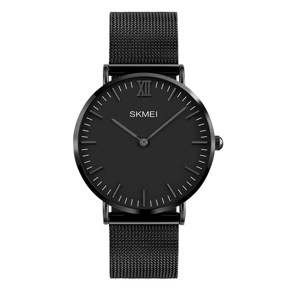 Jam Tangan Skmei Original Terlengkap Anti Air Pria Casio Merek Watch 1181 Lovers Kuarsa Mewah Wanita Mode Santai 30m