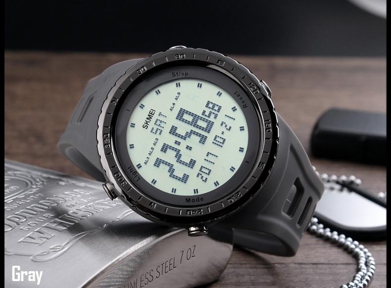 Review Skmei Merek Watch Panas Atas Merek Mewah Pria Outdoor Fashion Digital Watch Laki Laki Clock Jam Tangan Relogio Masculino1246 Elektronik Intl Di Tiongkok