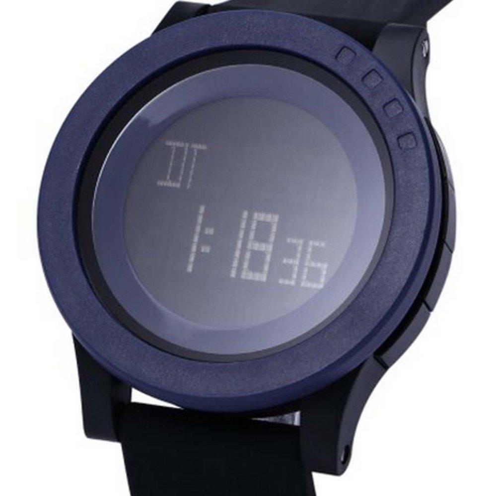 SKMEI 1142 Jam Tangan Pria - Wanita Casual Trendy Digital  Rubber 52 mm - Anti Air 50 M Renang - Water Resistant Watches