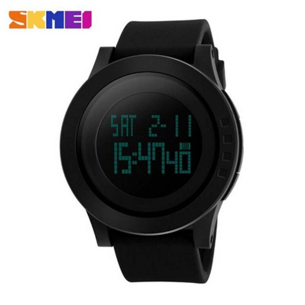 Spesifikasi Skmei 1142 Jam Tangan Pria Wanita Casual Trendy Digital Rubber 52 Mm Anti Air 50 M Renang Water Resistant Watches Beserta Harganya