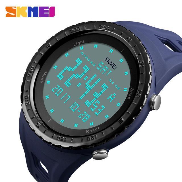 Jual Skmei Jam Tangan Digital Dg1246 Blue