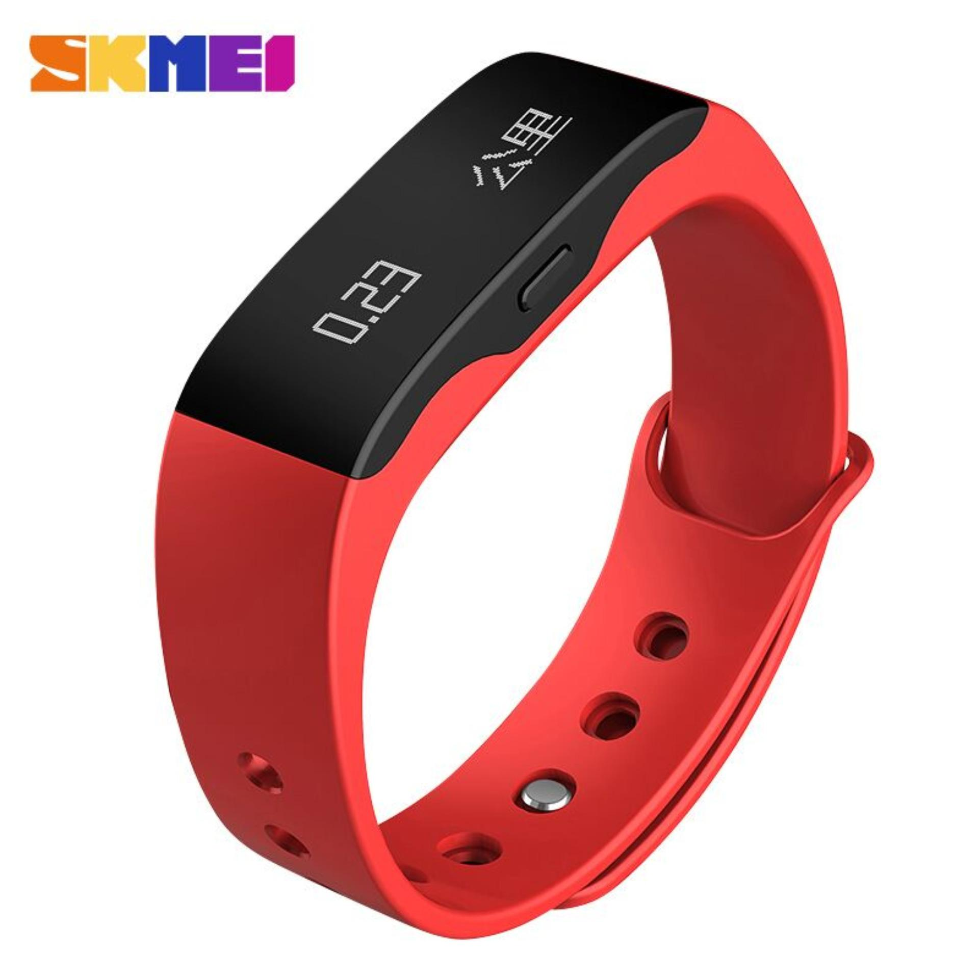 Jual Skmei Jam Tangan Oled Gelang Smartwatch Fitness Notification L28T Branded Original