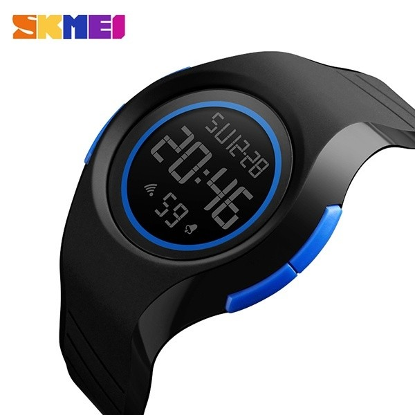 SKMEI Jam Tangan Pria LED Digital Bermerk Tahan Air 50 M Fashion Jam Tangan Olahraga Outdoor 1269