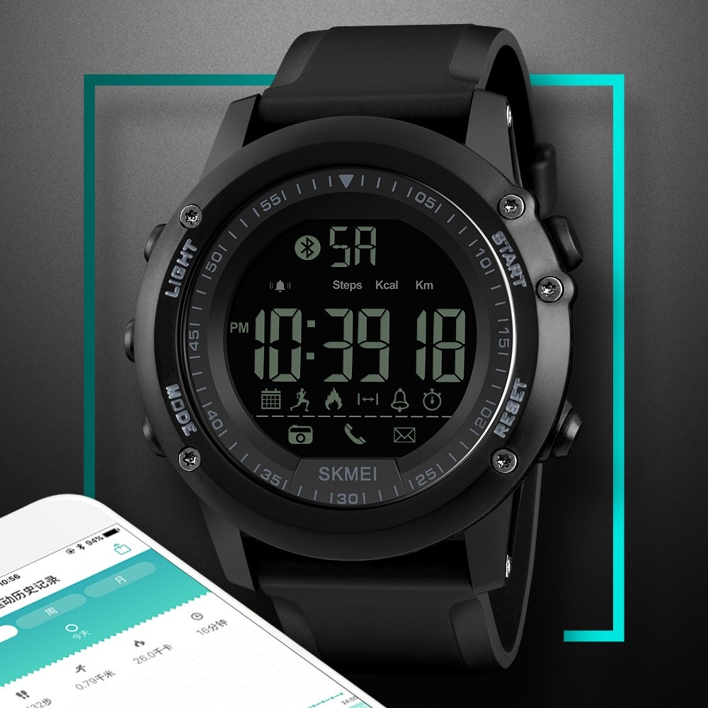 Skmei S Shock Digital Sport Watch Water Resistant 50m Jam Tangan Dg1025 Dg1134 Source Pria Smartwatch Pedometer Kebugaran Tracker Kalori