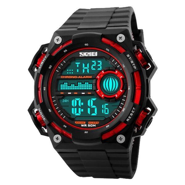 Toko Skmei S Shock Militer Sport Watch Water Resistant 50M Dg1115 Hitam Merah Skmei