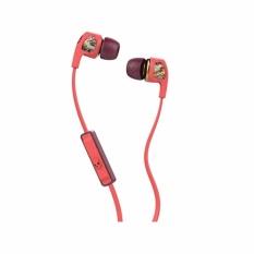 Toko Skullcandy Dime S2Pggy 419 Earphones With Mic Remote 3 5Mm Merah Lengkap