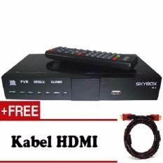 Sky Box Set Top Box Dvb T2 Tv Anti Semut Free Kabel Hdmi To Hdmi Skybox Diskon 40