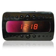SKY Full HD 1920x1080 P SPY Kamera Tersembunyi dengan Night VisionMiniDeskAlarm Clock Camera-Intl