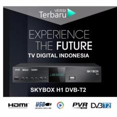 Skybox Set Top Box Dvb-T2 Hd Mpeg4 Perangkat Penerima Televisi Siaran Digital - Hitam By King Elektronics.