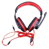 Harga Skype Gaming Game Stereo Headphone Headset Earphone W Mic Untuk Pc Laptop Intl Oem Baru