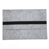 Diskon Lengan Baju For Menutupi Case Tas Apple Macbook Laptop 33 02 Cm Abu Abu Muda Oem Hong Kong Sar Tiongkok