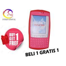 Silikon Half Kp 2tone GID ZAG Nokia Asha 303