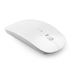 Beli Slim 2 4 Ghz Optik Wireless Mouse Receiver Untuk Laptop Pc Mac Putih Intl Tiongkok