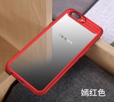 Spesifikasi Slim Anti Slip Soft Tpu And Crystal Clear Acrylic Pc Transparan Belakang Sampul Transparan Kasus Penutup Untuk Oppo F5 Terbaik