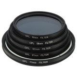 Beli Pelangsing Kopral Circular Polarisasi Filter Dikirim Oleh Iklanlini Com 3 Polarizer Canon Nikon Kamera Hitam 58Mm Seken