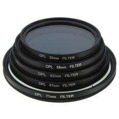 Jual Pelangsing Kopral Circular Polarisasi Filter Dikirim Oleh Iklanlini Com 3 Polarizer Canon Nikon Kamera Hitam 58Mm Oem Di Hong Kong Sar Tiongkok