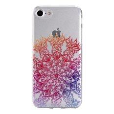 Slim Fit Soft TPU Cover Case untuk IPhone 7 4.7 Inch (Gaya Nasional-1)-Intl
