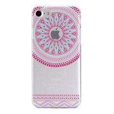 Slim Fit Soft TPU Cover Case untuk IPhone 7 Plus 5.5 Inch (Gaya Nasional-3)-Intl