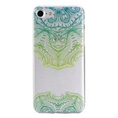 Slim Fit Soft TPU Cover Case untuk IPhone 7 Plus 5.5 Inch (Gaya Nasional-4)-Intl
