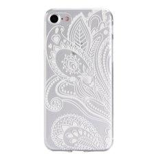 Slim Fit Soft TPU Cover Case untuk IPhone 7 Plus 5.5 Inch (Gaya Nasional-8)-Intl