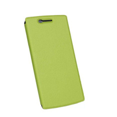 Review Slim Leather Stand Case Holder Skin Cover For Oneplus One A0001 Green Oem