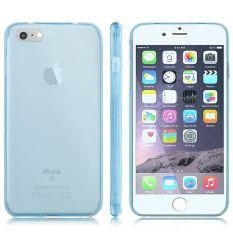Slim Soft TPU Karet Transparan Depan Back Case Cover untuk Apple IPhone 7 4.7