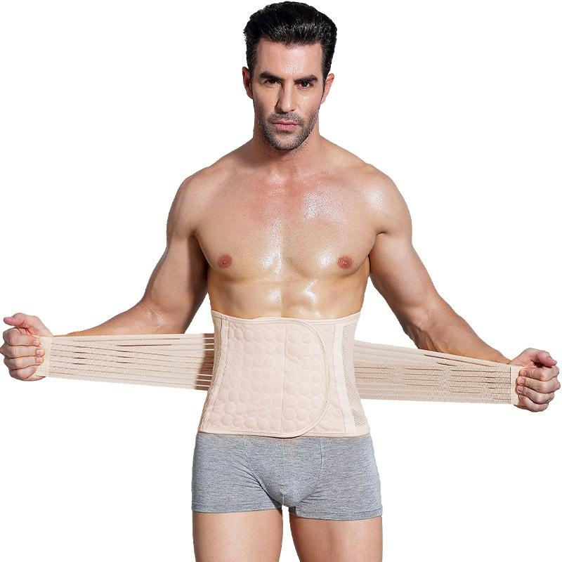 Harga Slimming Belt Belly Men Body Shaper Korset Perut Perut Pelangsing Shapewear Pinggang Trainer Cincher Slim Girdle Warna Kulit Terbaru