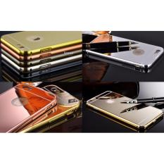 Sloof Luxury Mirror Case+Aluminium Bumper iPhone 7Plus / 7S Plus - Abu Tua