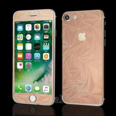 Beli Sloof Tempered Glass Mirror 3D Diamond Front Back Iphone 7Plus 7S Plus Pink Rose Dki Jakarta