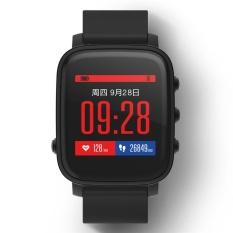 SMA-TIME Monitor Denyut Jantung Sleep Pelacakan Sedentary Alert Pemberitahuan Pesan Fashion Smart Watch-Intl