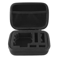 Small Case Shockproof Storage Case For Xiaomi Yi GoPro Tas Penyimpanan Kamera - Hitam