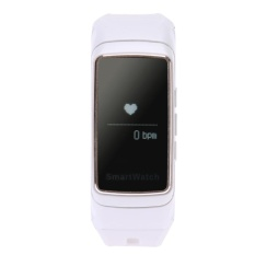 Smart Bracelet B7 Bluetooth Earset Style Heart Rate Monitor Smart White Intl Original