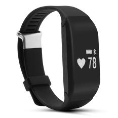 Toko Smart Gelang H3 Gelang Heart Rate Monitor Bluetooth 4 Passometer Olahraga Kebugaran Tracker Smartband Untuk Ios Android Hitam Intl Terlengkap
