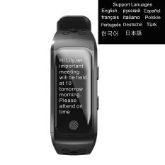 Promo Smart Gelang Ip68 Tahan Air Smart Band Monitor Denyut Jantung Pengingat Panggilan Gps Chip S908 Olahraga Gelang Intl Di Tiongkok
