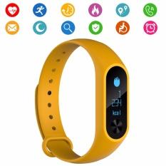 Jual Smart Fitness Tracker M2S Band Oled Display Tekanan Darah Monitor Detak Jantung Smartband Kesehatan Smart Jam Tangan Pelacak Wrist Band Gelang Untuk Android Ios Ponsel Intl Termurah