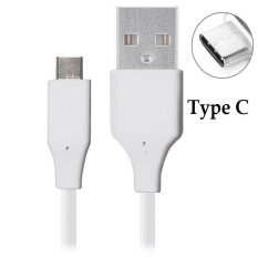 Smart Kabel Data Original USB Type C for Xiaomi Mi4c / Mi4s Mi 5 LG G5 and smartphone with Type C USB - Putih