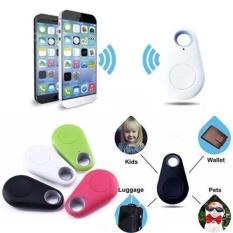 Label Smart Nirkabel Bluetooth 4.0 Tracker PET Anak Dompet Rantai Kunci Finder GPS Locator Anti Lost Alarm System untuk Android IOS Smart Phone-Intl