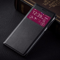 Smart View Flip Cover Leather Case untuk Samsung GALAXY Grand 2 Duo G7102 G7105 G7106 Phone Case Back Sleep Wake -Intl